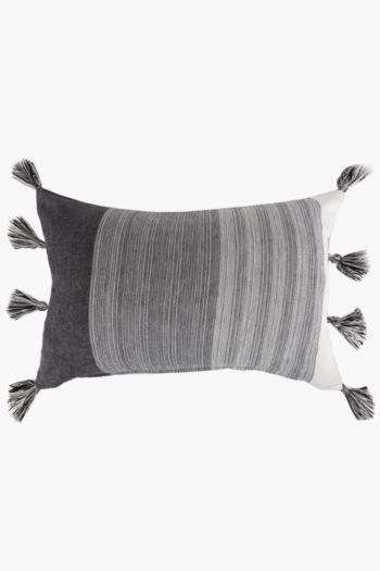 Ombre Tassel Scatter Cushion, 40x60cm
