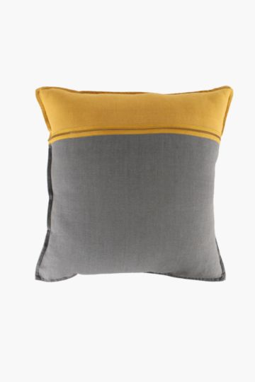 Colour Block Zip 50x50cm Scatter Cushion