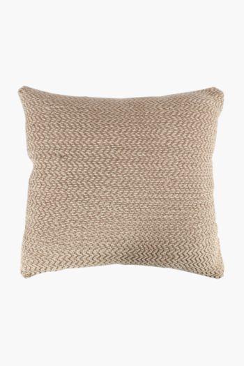 Woven Wave Lurex Scatter Cushion, 50x50cm