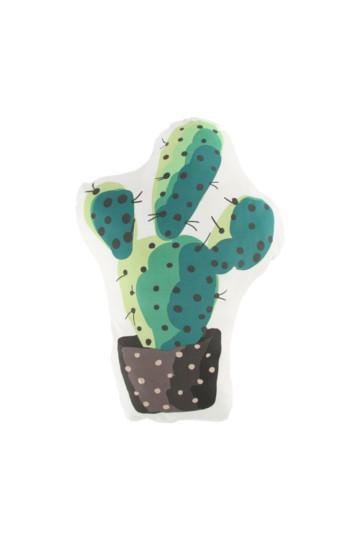 Shaped Cactus 50x35cm Cushion