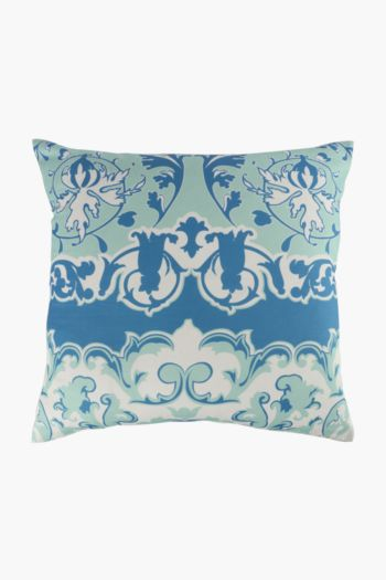Printed Scarf Florence Scatter Cushion, 50x50cm