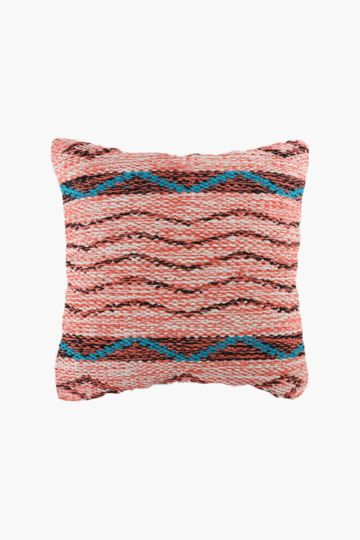 Textured Weave Wave 50x50cm Scatter Cushion