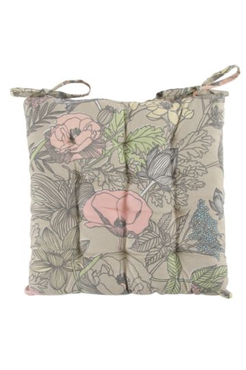 Country Garden 40x40cm Chair Pad