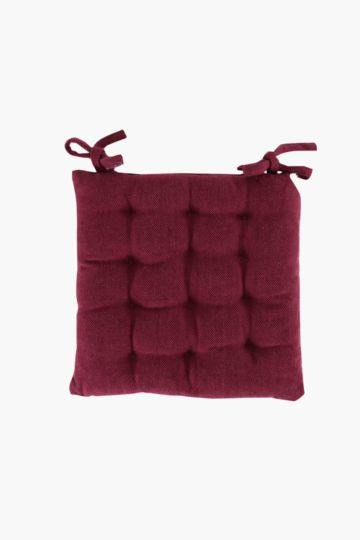 Cotton 40x40cm Chair Pad