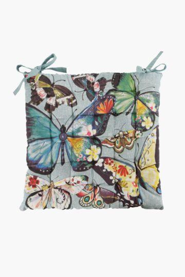 Boho Butterfly 50x50cm Chair Pad
