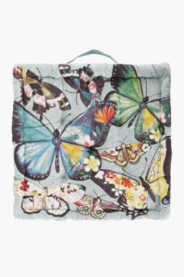 Boho Butterfly 50x50x10cm Mattress Cushion