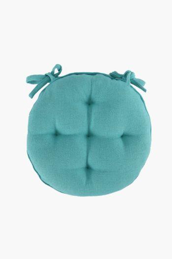 Cotton 40x40cm Round Chair Pad