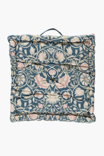 Alexa Floral Mattress Cushion, 50x50x10cm