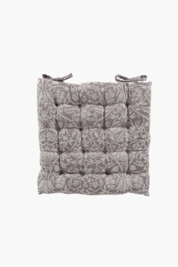 Virginia Jacquard Chair Pad, 50x50cm
