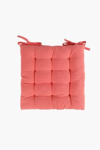 Cotton Chair Pad, 40x40cm