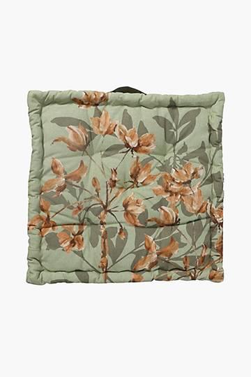 Autumn Bloom Mattress Cushion, 50x50x10cm