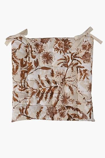 Autumn Bloom Chair Pad, 50x50cm