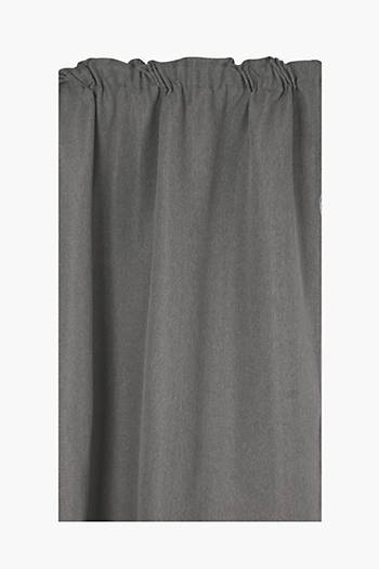 Lucca Textured Taped Curtain, 270x218cm
