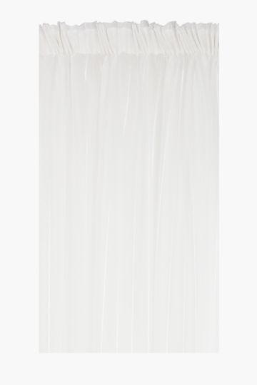 Lurex Stripe 230x218cm Taped Curtain