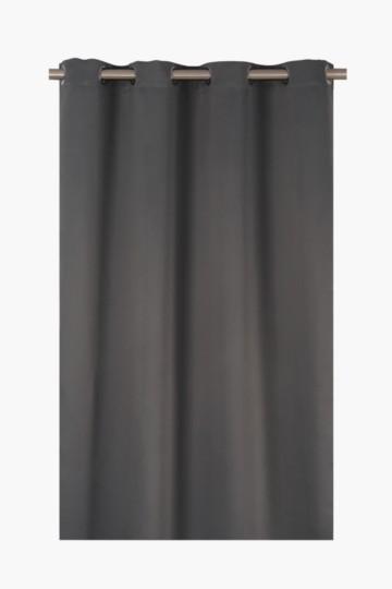 Plain Block Out 225x225cm Eyelet Curtain