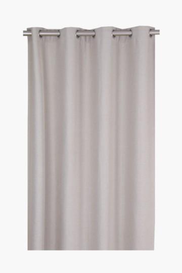 Hopsack 225x225cm Eyelet Curtain