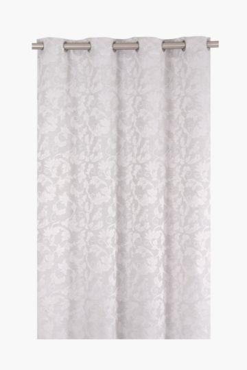 Ariana Jacquard 140x225cm Eyelet Curtain