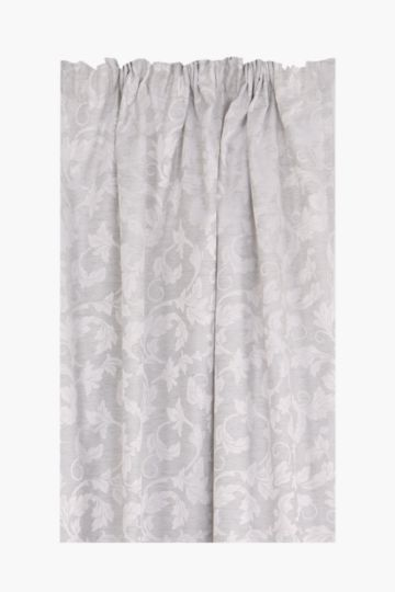 Ariana Jacquard 230x218cm Taped Curtain