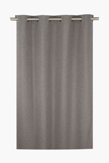 Lucca Textured Eyelet Curtain, 225x225cm