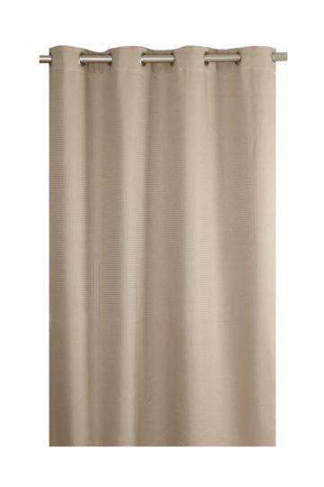 Honeycomb Woven 225x225cm Eyelet Curtain