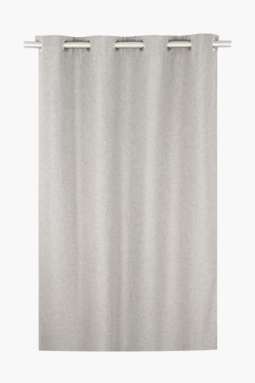 Lucca Block Out Eyelet Curtain, 225x225cm