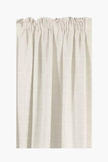 Mercury Fleck Taped Curtain, 270x218cm