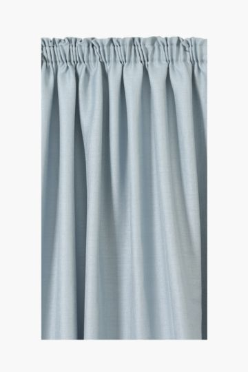 Crepe Voile Taped Curtain 230x218cm