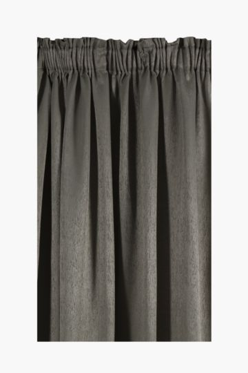 Wood Grain Taped Curtain, 230x218cm