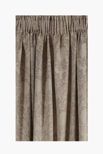 Jacquard Damask Taped Curtain, 270x250cm