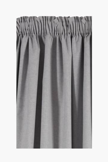 Linen Blend Taped Curtain, 270x218cm
