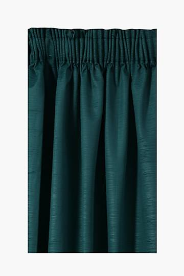 Embossed Velvet Taped Curtain, 270x218cm