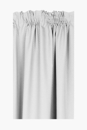 Basket Weave Taped Curtain, 230x218cm