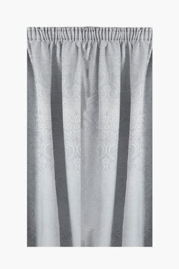 Jacquard Azalia Taped Curtain, 230x218cm