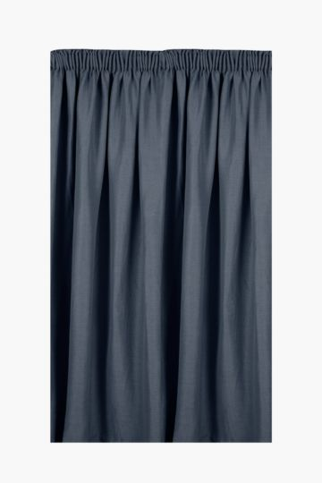 Harrison Block Out Taped Curtain, 145x225cm