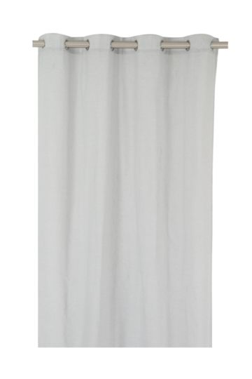 Slub Sheer 140x225cm Eyelet Curtain