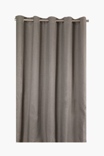 Mingle 225x225cm Woven Block Out Eyelet Curtain