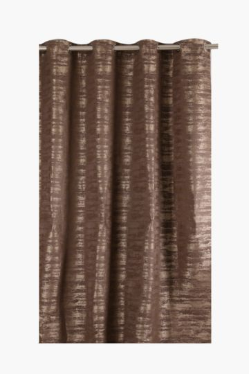 Gradient 225x225cm Eyelet Curtain