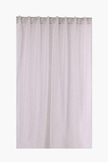 Sheer Hidden Tab Curtain, 140x225cm