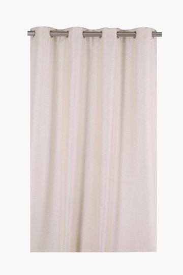 Sheer Shimmer Eyelet Curtain, 140x225cm
