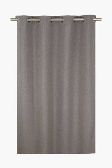 Lucca Textured Eyelet Curtain, 140x225cm