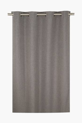 Lucca Textured Eyelet Curtain, 225x250cm