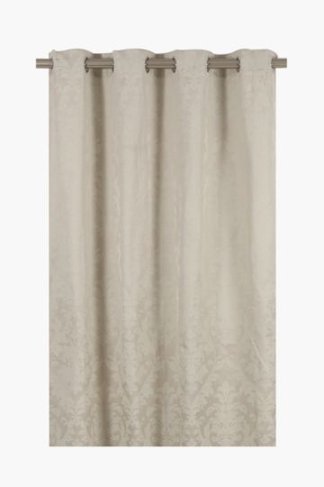 Etched Filigree Eyelet Curtain, 145x225cm