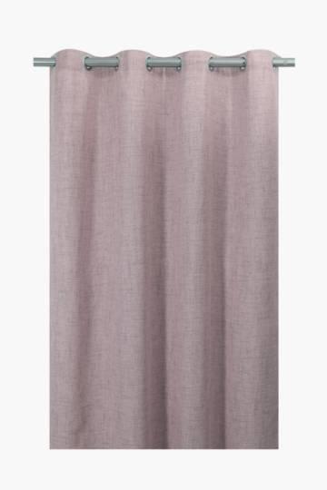 Textured Bronx Eyelet Curtain, 140x225cm
