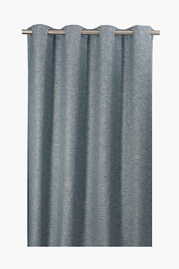Mia Textured Eyelet Curtain, 225x225cm