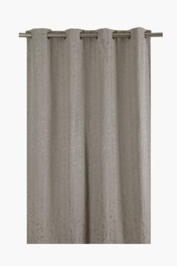 Leaf Eyelet Curtain 140x225cm