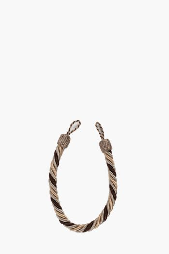 Multi Twist Rope Tie Back