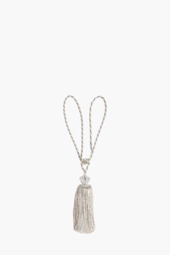 Prism Bead Tassel Tie Back