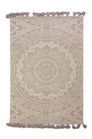 Printed Tassel Detail 120x180cm Rug