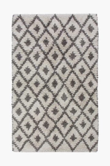 Cotton Shaggy 120x180cm Rug