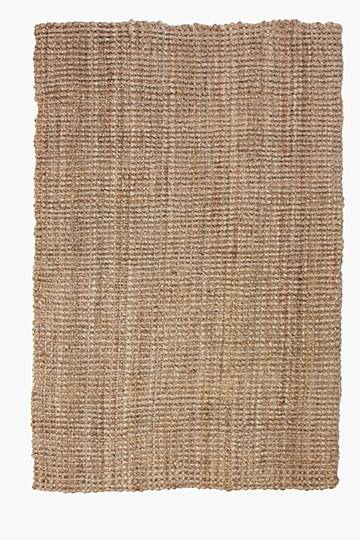 Knotted Jute Rug, 120x180cm